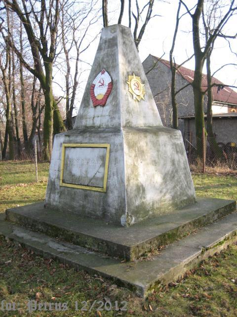 Pomnik Wdzięczności Armii Czerwonej w Krzanowicach